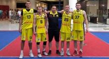 Баскетбол 3x3. «БИПА-Одесса» остановилась в шаге от завоевания бронзы Lavina Суперлиги 3х3